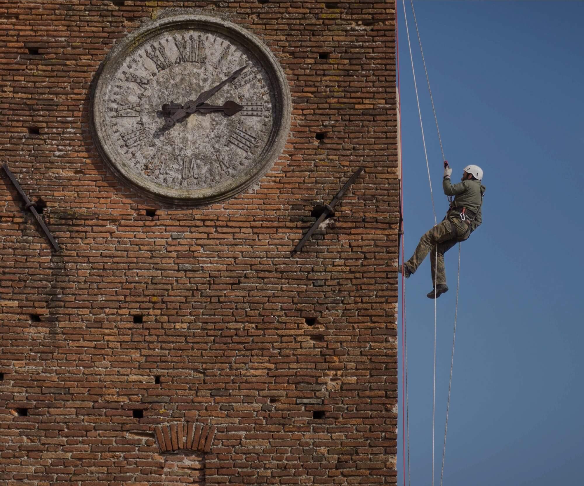 Restaura edifici storici e monumenti senza ponteggi